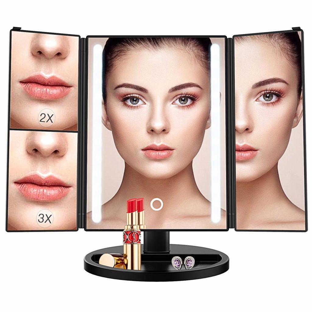 espejo de maquillaje bestope
