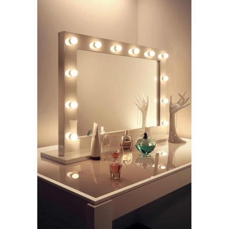 espejo de maquillaje profesional