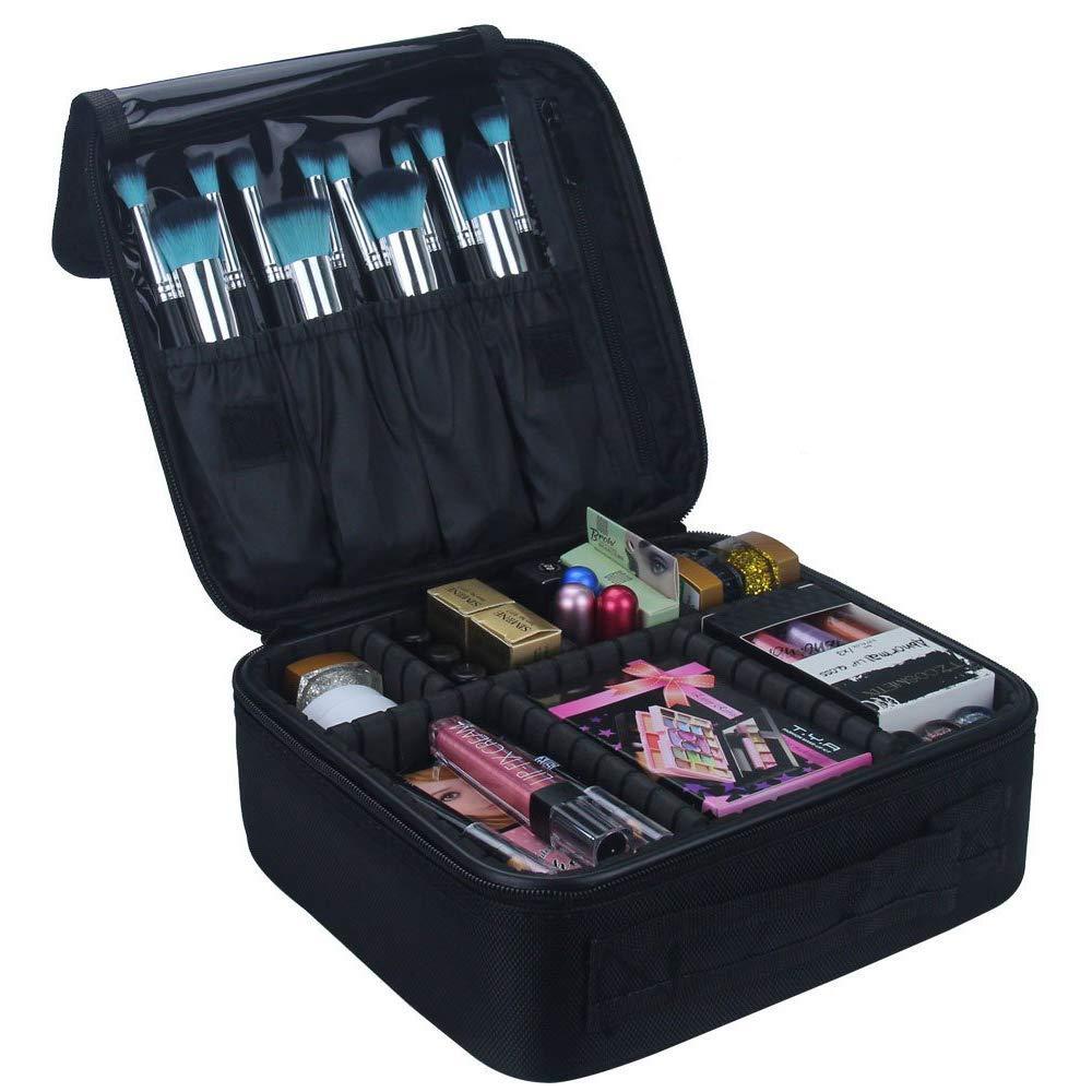 estuche de maquillaje organizador travelmall amazon
