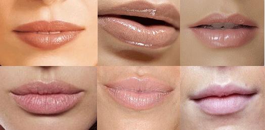 labios de fiesta