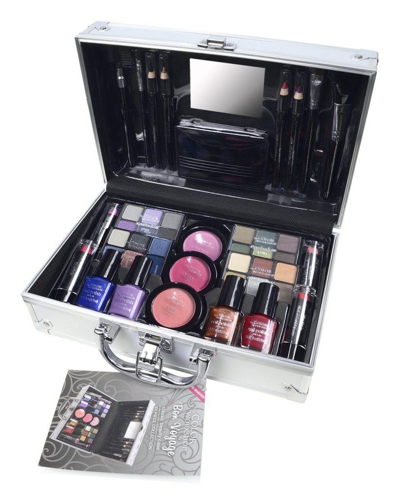 estuche de maquillaje the color workshop