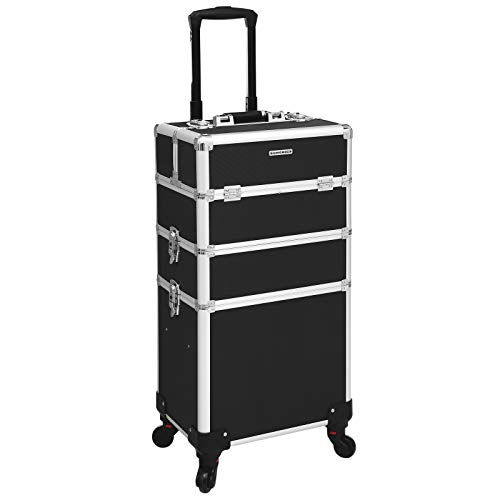 maletin con ruedas para maquillaje songmics