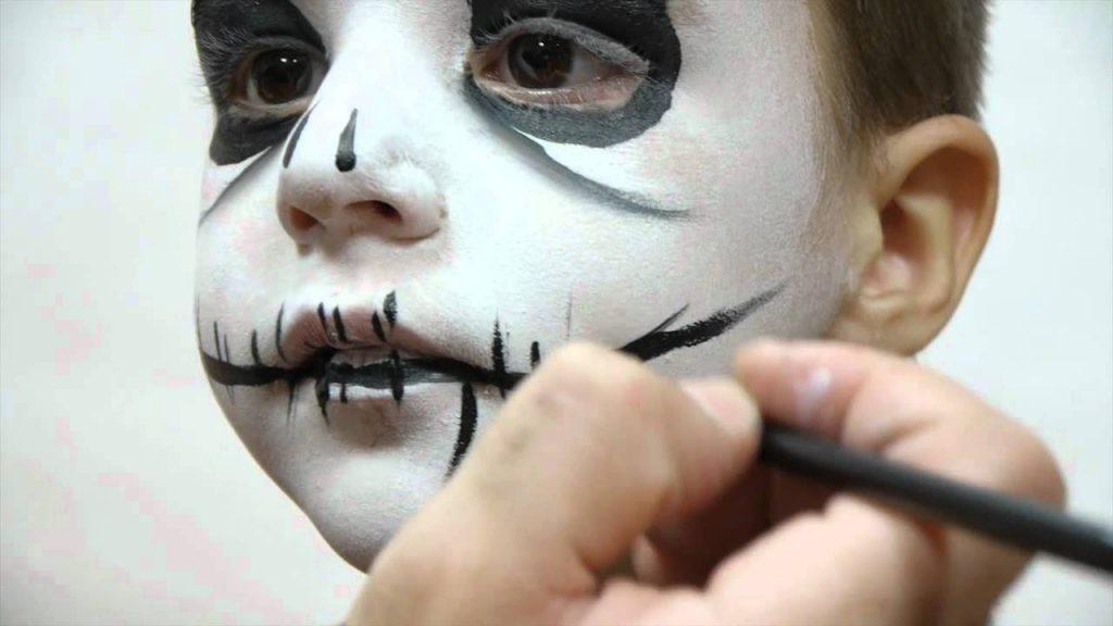 maquillaje niño facil procedimiento