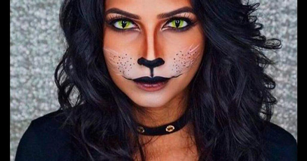 maquillaje de gato espléndido