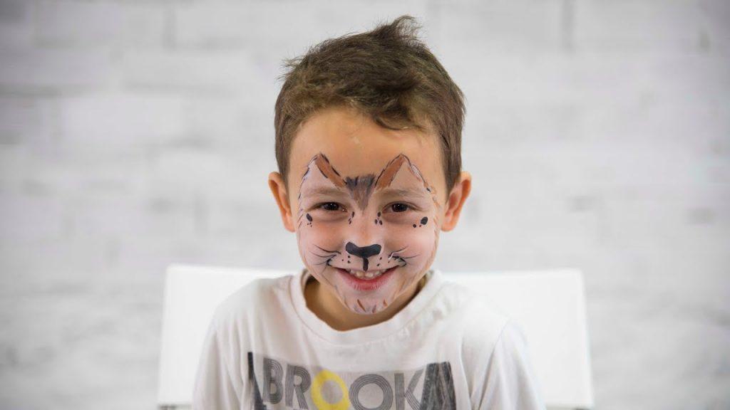 maquillaje gato niños