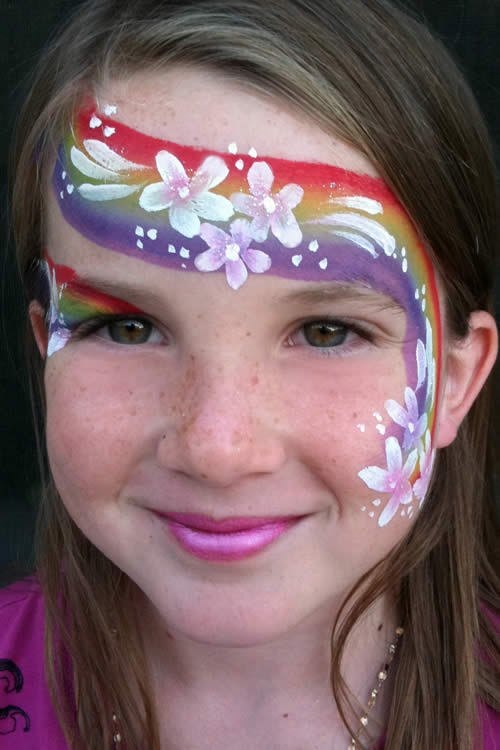 maquillaje infantil de hada