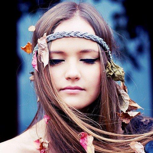 maquillaje hippie
