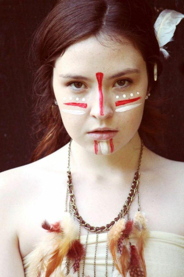 maquillaje indio precioso