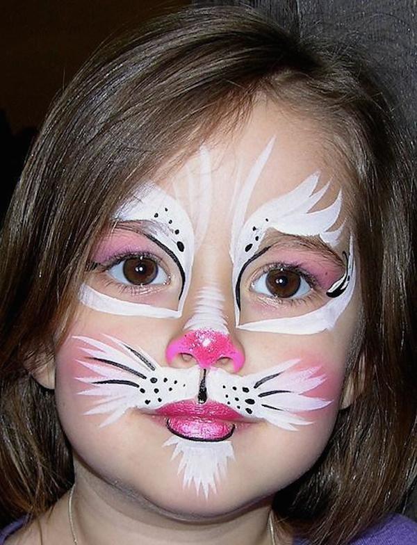 maquillaje infantil para niña