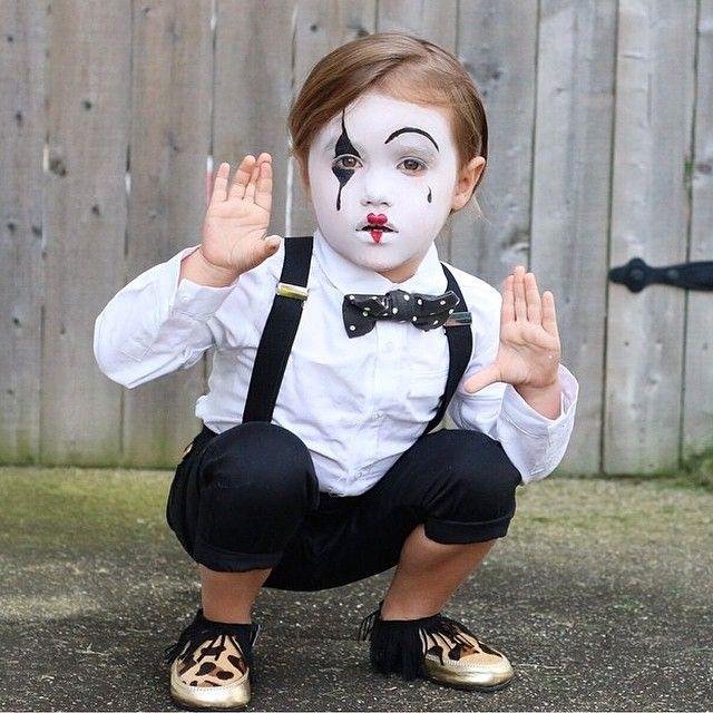 maquillaje mimo niño
