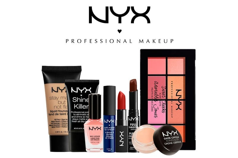 maquillaje productos nyx