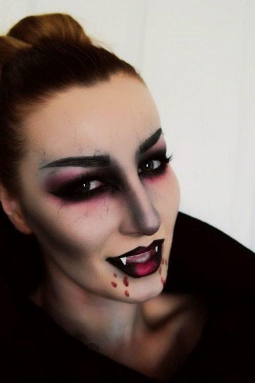 maquillaje de vampiresa perfecto