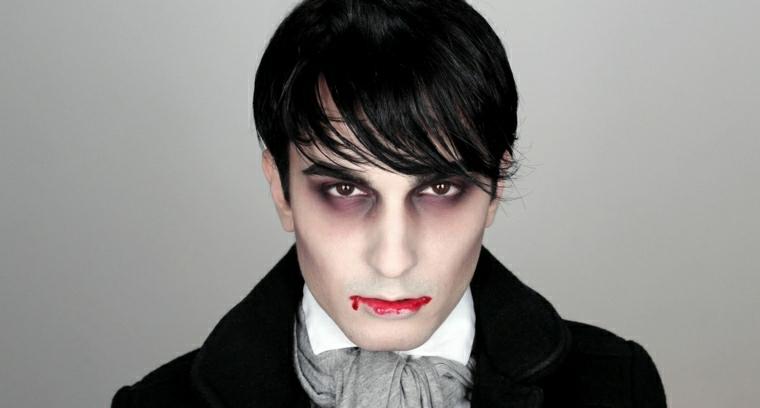 maquillaje de vampiro facil