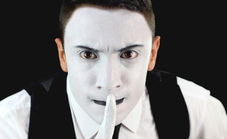 maquillaje de mimo hombre