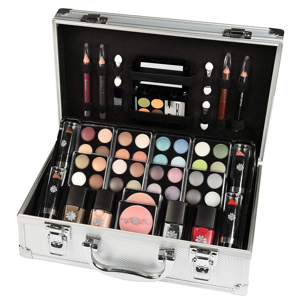 estuche de maquillaje paleta de sombras makeup trading