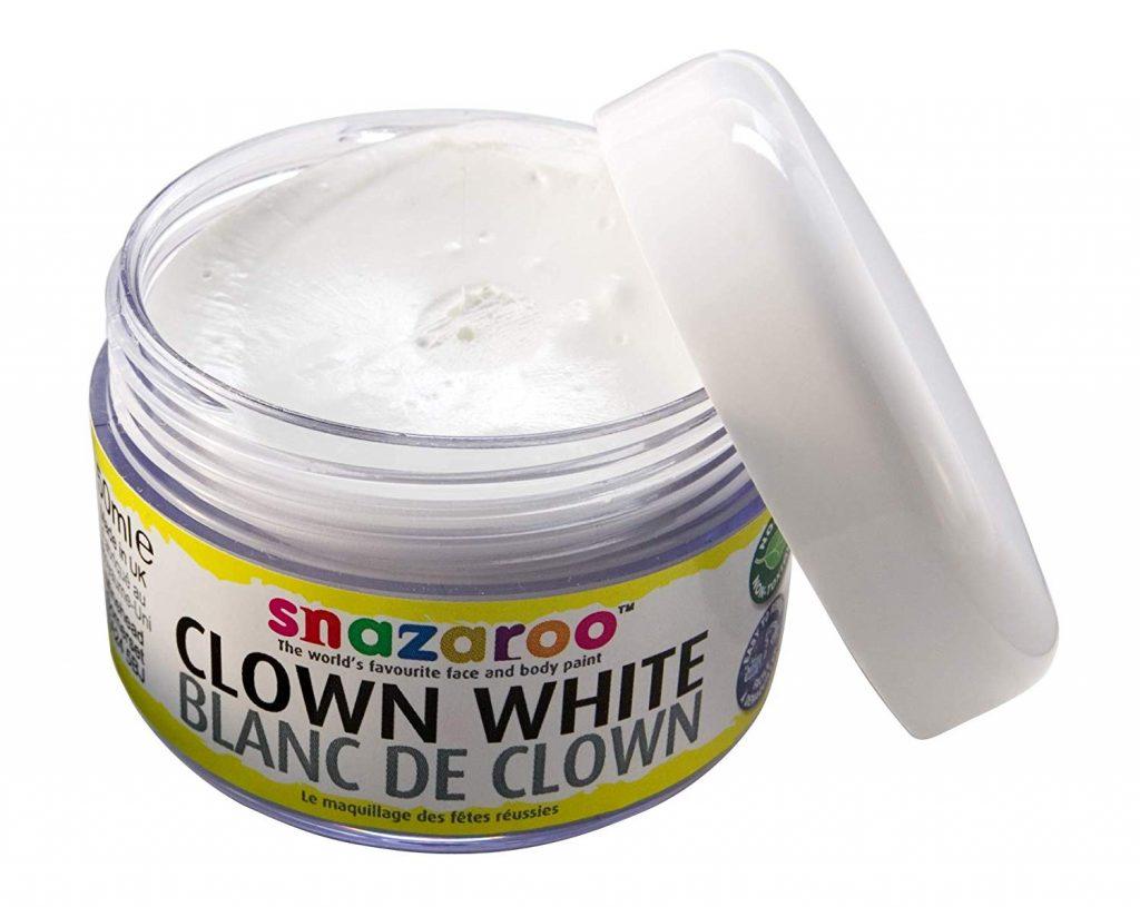 pintura facial clown snazaroo