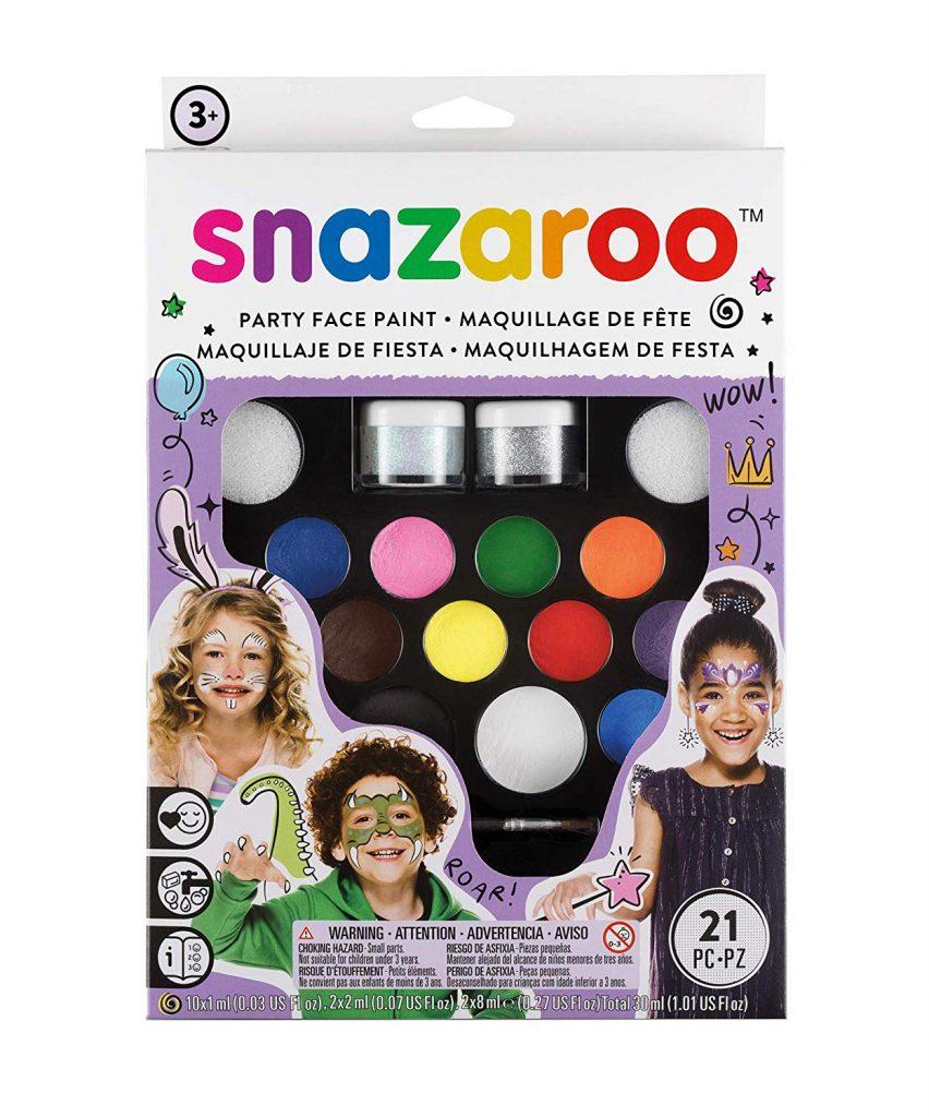 set de pintura facial snazaroo en amazon