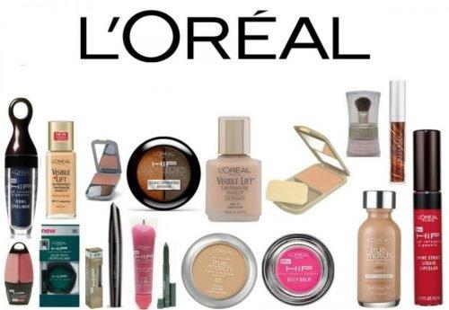 productos cosméticos de loreal parís
