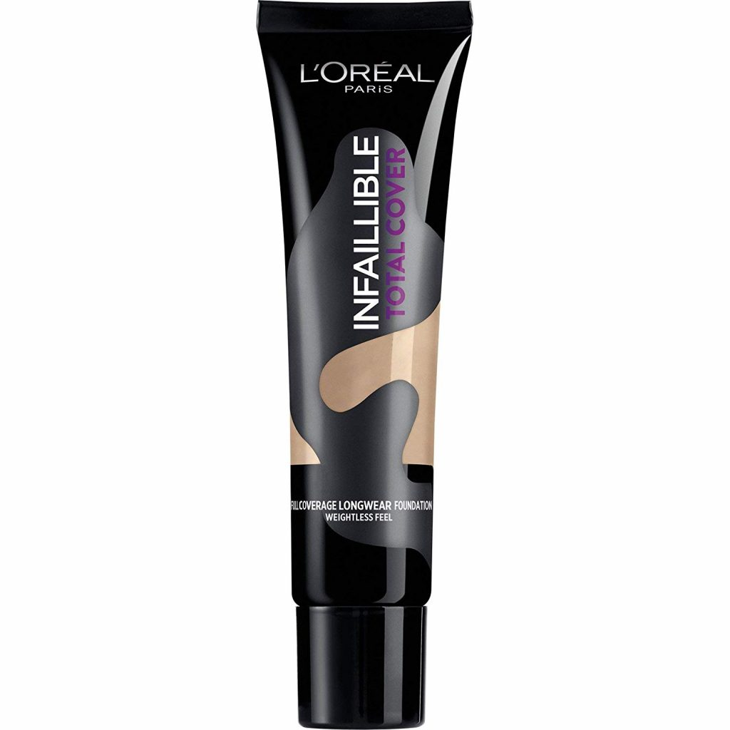 base de maquillaje loreal infalible total cover