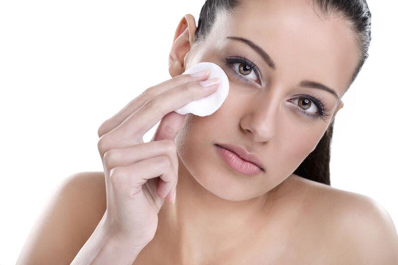 limpiar tu rostro