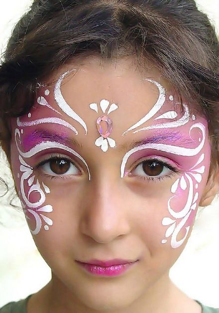 maquillaje niña artístico
