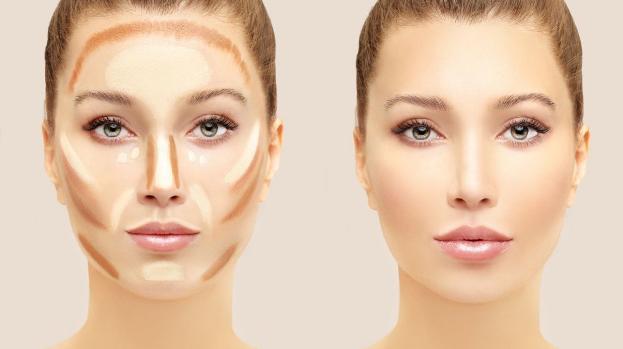 maquillaje contouring procedimiento