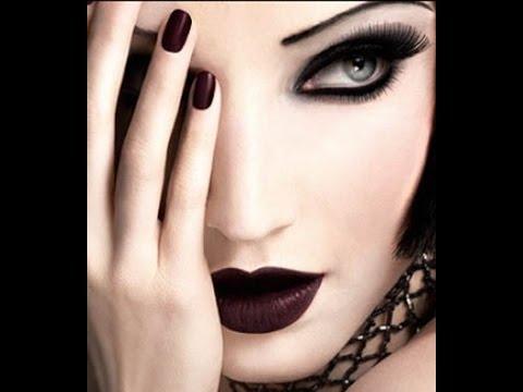 maquillaje ojos gotico