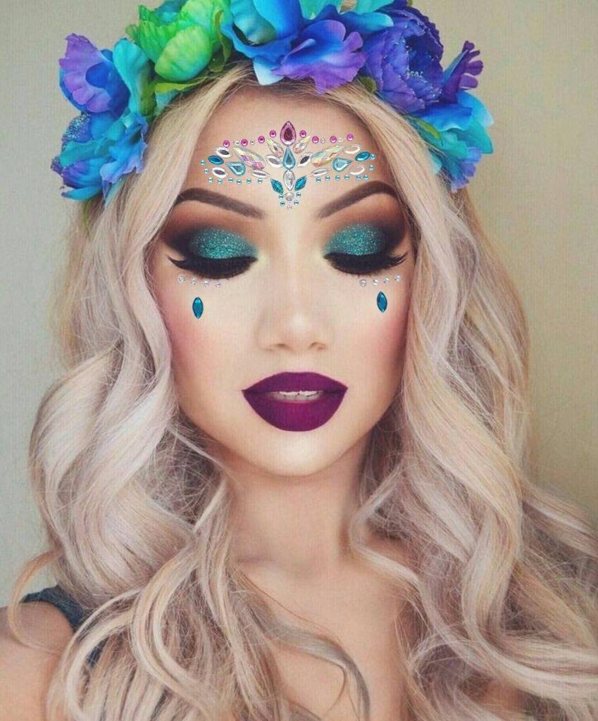 maquillaje de hada