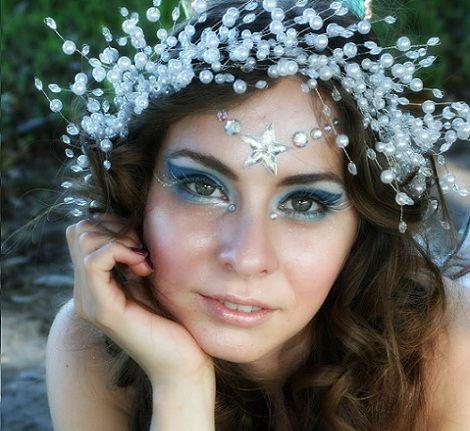 maquillaje hada mujer