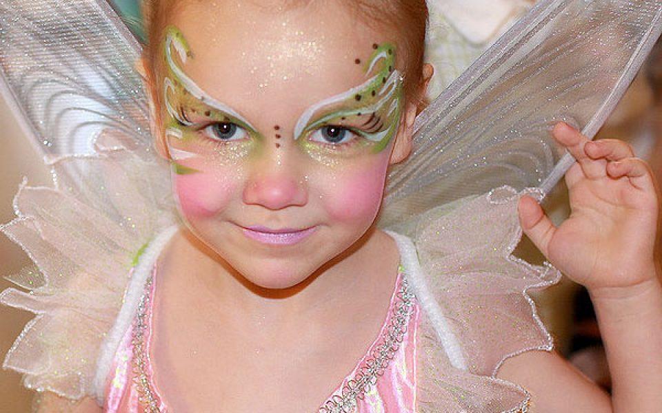 maquillaje hada niña
