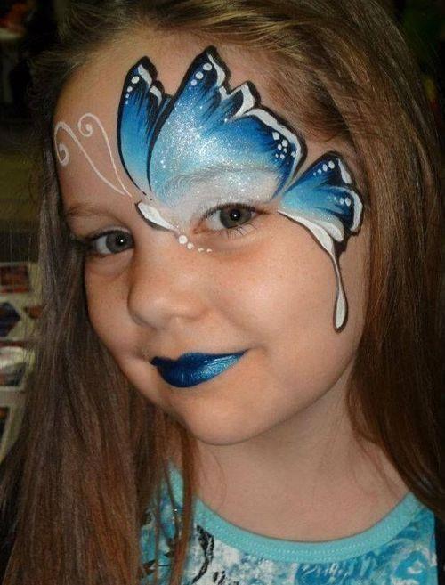 maquillaje artístico mariposa