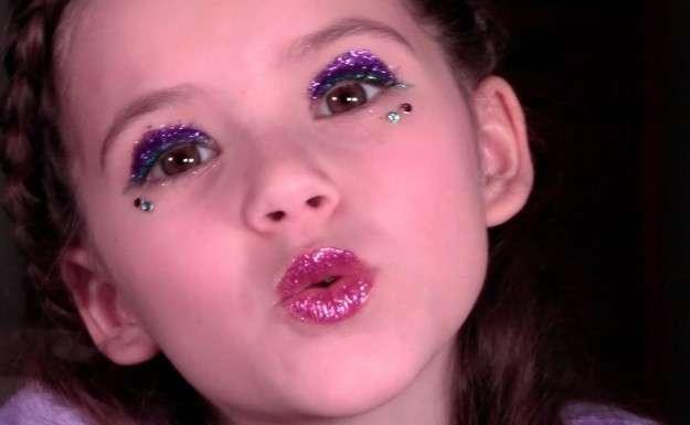 maquillaje sencillo para niñas