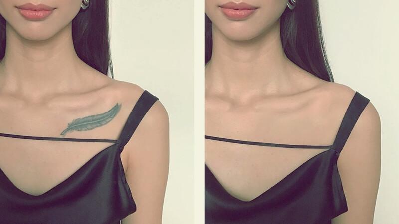 maquillaje para tapar tatuajes