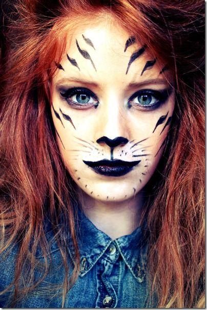 maquillaje tigresa