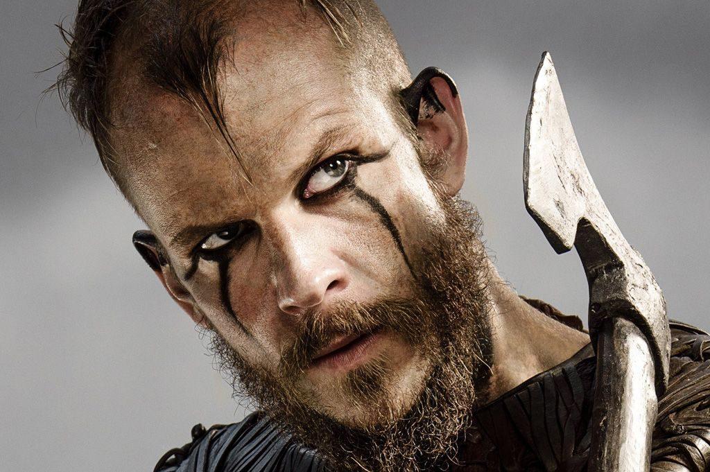 maquillaje vikingo para fotografía