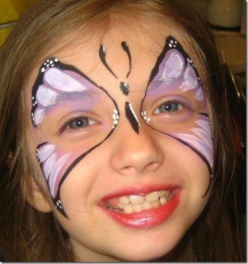 maquillaje fantasia mariposa