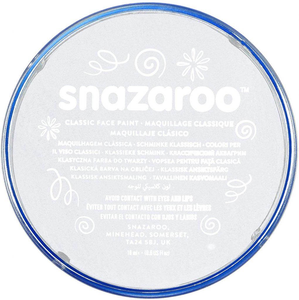 pintura white snazaroo