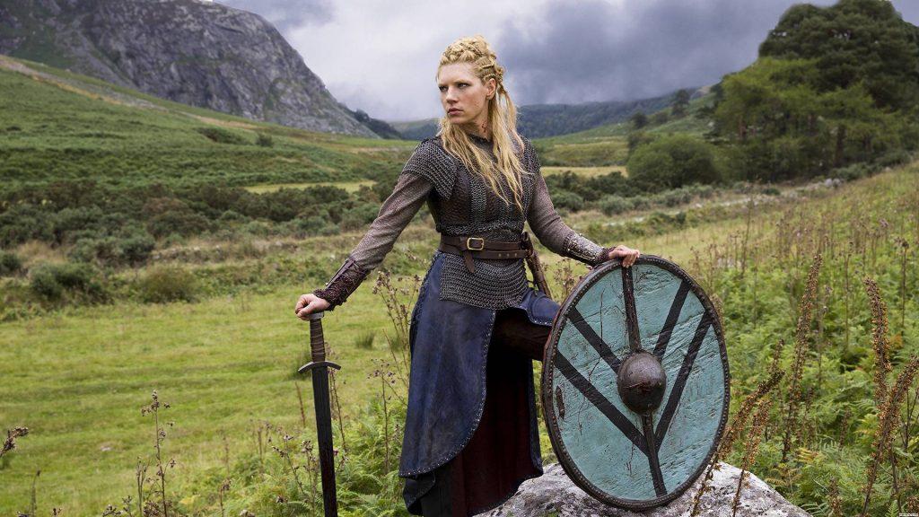 disfraz maquillaje vikingo