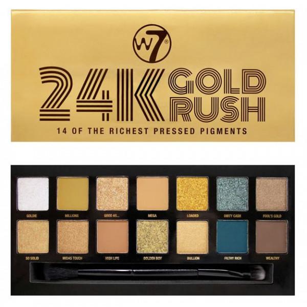 paleta de sombras 24 gold rush