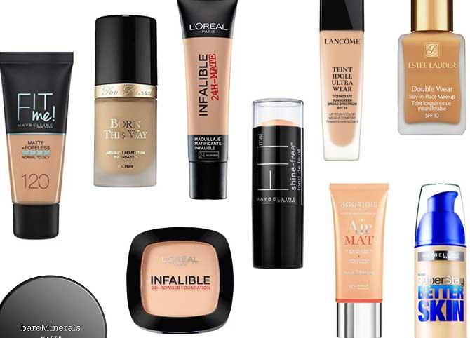 bases de maquillaje piel grasa