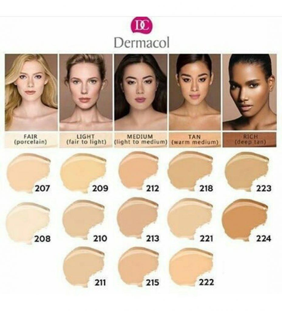 make up cover tonos disponibles