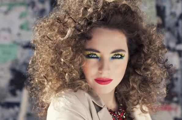maquillaje 80's