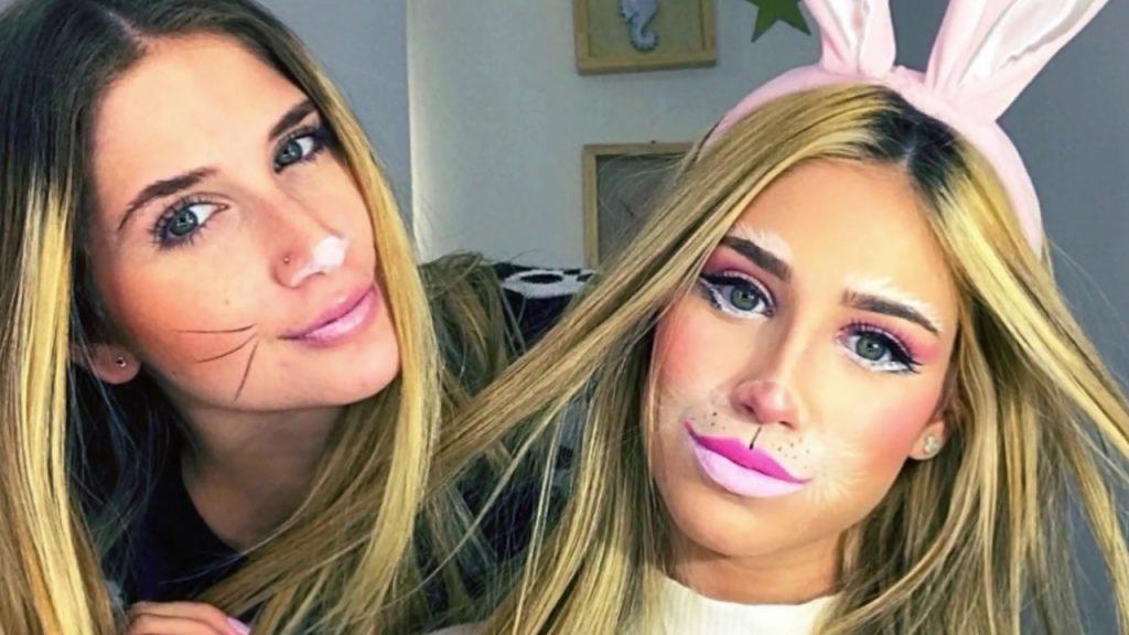 maquillaje conejo facil
