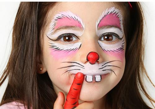 maquillaje coneja niña