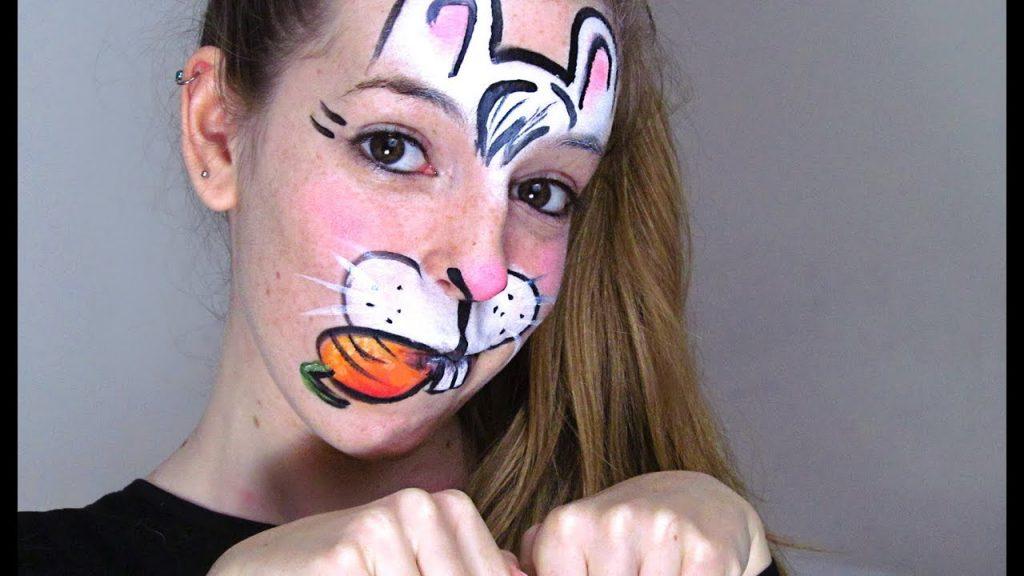 maquillaje coneja zanahoria