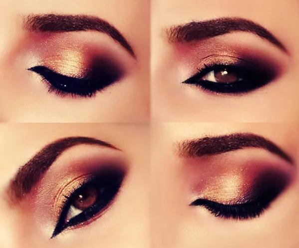 maquillaje ojos arabe