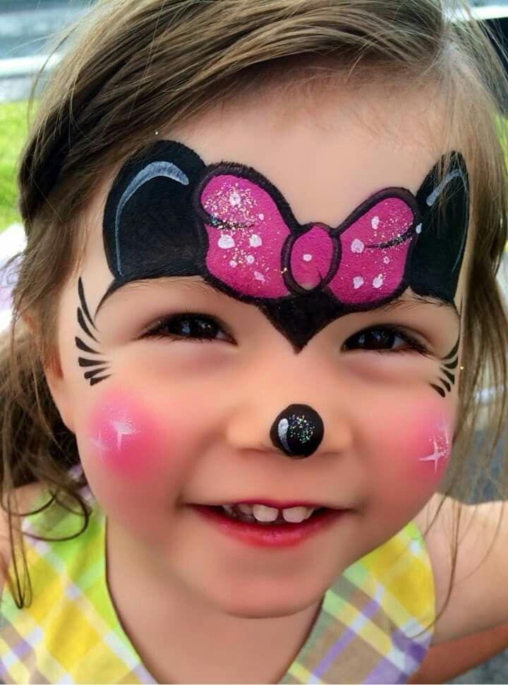 maquillaje minnie rosa