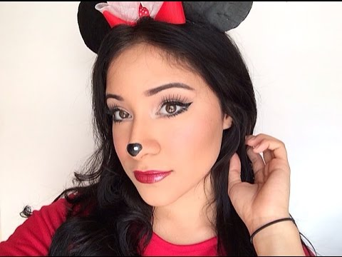 maquillaje minnie sencillo