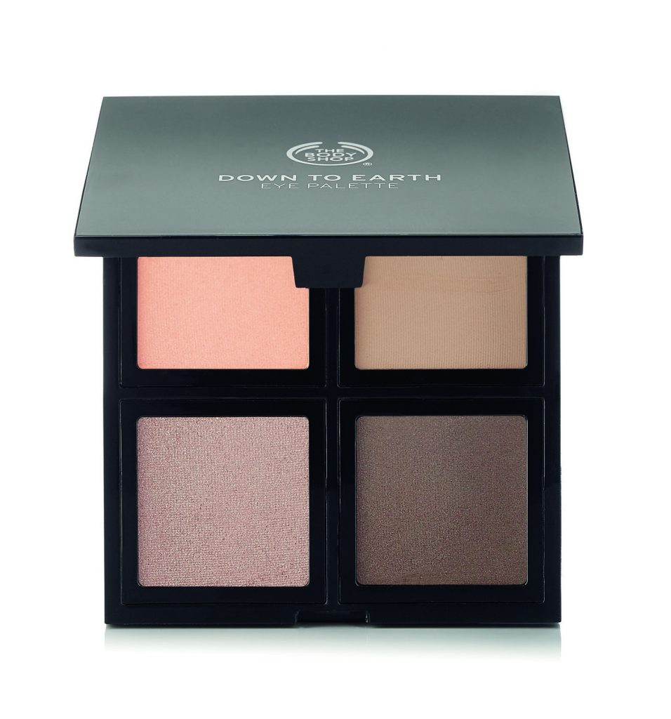 paleta sombras the body shop