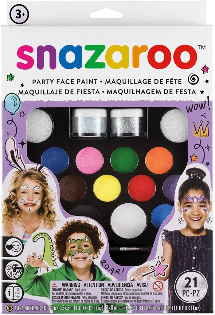 pintura facial snazaroo